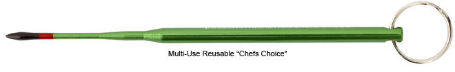 Reusable Chef's Choice Thermometer